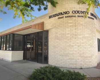 </br>Huerfano County Branch </br> 9 AM- 5PM Monday - Friday